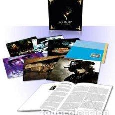 Discos de vinilo: CAJA 7 VINILOS BUNBURY / HEROES DEL SILENCIO BOX SET DELUXE. Lote 206400161