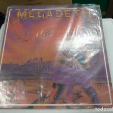 Discos de vinilo: MEGADETH - PEACE SELLS BUT WHO IS BUYING. Lote 127114883