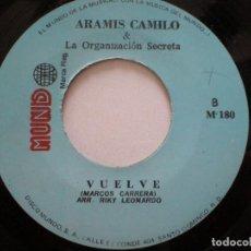 Discos de vinilo: ARAMIS CAMILO & LA ORGANIZACION SECRETA -HELLO -SG DOMINICANO MUNDO // LATIN SALSA MERENGUE LISTEN!. Lote 127115515