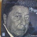 Discos de vinilo: LP - ATAHUALPA YUPANQUI - LA VOZ DE... (DOBLE DISCO, SPAIN, EMI ODEON 1976). Lote 127133063