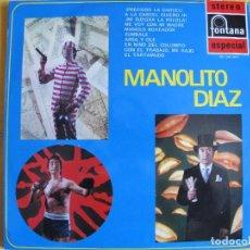 Discos de vinilo: LP - MANOLITO DIAZ - MISMO TITULO (SPAIN, FONTANA 1969). Lote 127135227