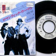 Discos de vinilo: BAD BOYS BLUE - YOU'RE A WOMAN - SINGLE ARIOLA 1986 PROMO JAPAN (EDICIÓN JAPONESA) BPY. Lote 127135343
