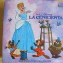 Discos de vinilo: LP-LA CENICIENTA-CUENTO, CANCIONES EN CASTELLANO Y LIBRO ILUSTRADO A COLOR (SPAIN, DISNEYLAND 1970). Lote 127136139