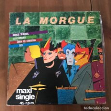 Discos de vinilo: LA MORGUE - AVANZE SEMANAL - MAXISINGLE EDIGSA 1982. Lote 127136783