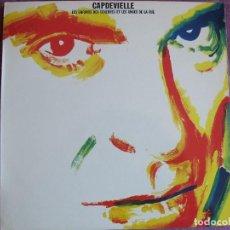 Discos de vinilo: LP - CAPDEVIELLE - LES ENFANTS DES TÉNÈBRES ET LES ANGES DE LA RUE (SPAIN, CBS 1979). Lote 127148351