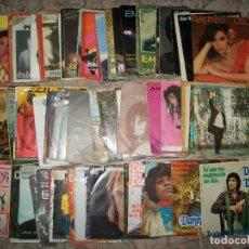 Discos de vinilo: DISCOS (L-03) (LOTE DE 100 DISCOS SINGLES DIFERENTES) TODOS LOS ESTILOS. Lote 127150623