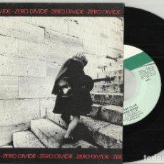 Discos de vinilo: ZERO DIVIDE SINGLE CINE CLUB / SCENARIO ESPAÑA 1984. Lote 127155391