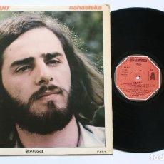 Discos de vinilo: LP: NIKO ETXART - NAHASTEKA (KARDANTXA, 1979) - INCLUYE INSERTO CON LAS LETRAS - BASQUE FOLK ROCK. Lote 127157819