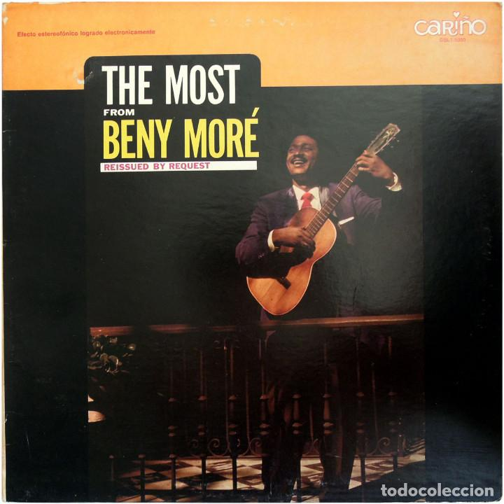 BENY MORÉ – THE MOST FROM BENY MORÉ, REISSUED BY REQUEST - LP USA - CARIÑO DBL1-5000 (Música - Discos - LP Vinilo - Grupos y Solistas de latinoamérica)