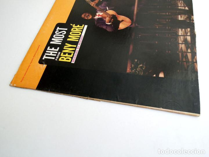 Discos de vinilo: Beny Moré – The Most From Beny Moré, Reissued By Request - Lp USA - Cariño DBL1-5000 - Foto 5 - 127172935