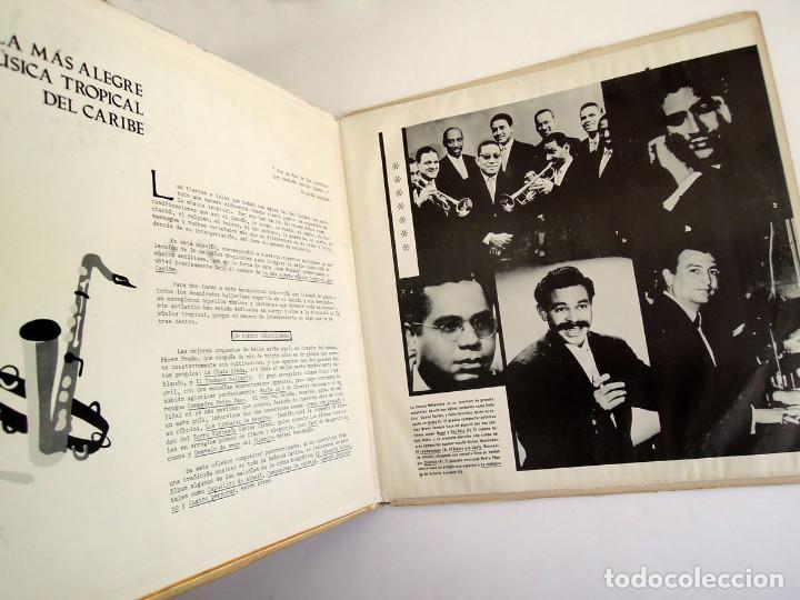 Discos de vinilo: VVAA - La mas alegre música tropical del Caribe - Triple Lp Mexico 1970 - Orfeon LP-JM-83 - Foto 3 - 127173295
