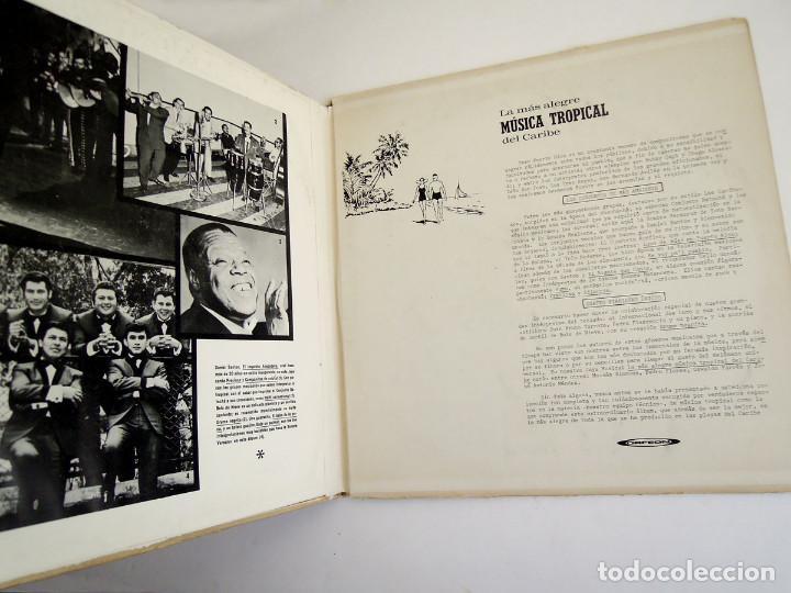 Discos de vinilo: VVAA - La mas alegre música tropical del Caribe - Triple Lp Mexico 1970 - Orfeon LP-JM-83 - Foto 4 - 127173295