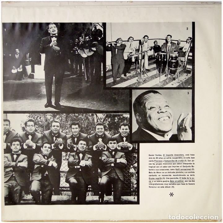 Discos de vinilo: VVAA - La mas alegre música tropical del Caribe - Triple Lp Mexico 1970 - Orfeon LP-JM-83 - Foto 13 - 127173295