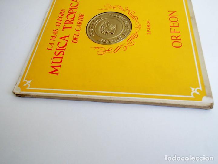 Discos de vinilo: VVAA - La mas alegre música tropical del Caribe - Triple Lp Mexico 1970 - Orfeon LP-JM-83 - Foto 15 - 127173295