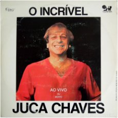 Discos de vinilo: JUCA CHAVES – O INCRÍVEL JUCA CHAVES - LP+BOOKLET BRAZIL 1983 - SDRUWS RECORDS / ROCCO. Lote 127186235