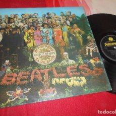 Discos de vinilo: THE BEATLES SERGEANT PEPPER'S LONELY HEARTS CLUB BAND LP 1967 PARLOPHONE PCS7027 STEREO INGLESA UK. Lote 199424270