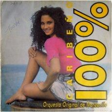 Discos de vinilo: ORQUESTA ORIGINAL DE MANZANILLO – CARIBEÑO 100% - LP CUBA 1994 - SIBONEY LD-539. Lote 127205867