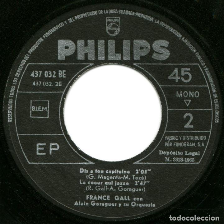 Discos de vinilo: France Gall – Poupée De Cire Poupée De Son - Ep Spain 1965 - Philips 437.032 BE - Foto 4 - 127210935