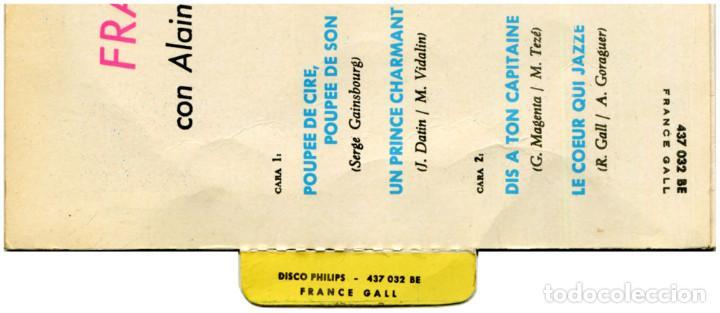 Discos de vinilo: France Gall – Poupée De Cire Poupée De Son - Ep Spain 1965 - Philips 437.032 BE - Foto 5 - 127210935