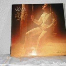 Discos de vinilo: VICTOR MANUEL LP SOY UN CORAZON TENDIDO AL SOL. Lote 127214291