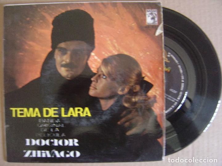 MAURICE JARRE ORQ - TEMA DE LARA - EP 1966 - MGM - BANDA SONORA DE LA PELICULA DOCTOR ZHIVAGO (Música - Discos de Vinilo - EPs - Bandas Sonoras y Actores)