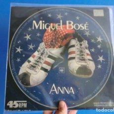 Discos de vinilo: MIGUEL BOSE ,( ANNA) 1978,!!MUY DIFICIL!! MAXI SINGLE,LOTE 426. Lote 127223947