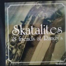 Discos de vinilo: VARIOS-SKATALITES & FRIENDS AT RANDY'S. Lote 127230223