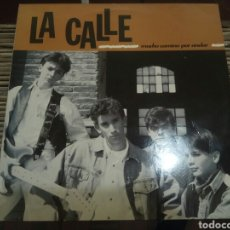 Discos de vinilo: LA CALLE LP MUCHO CAMINO POR ANDAR 1992. Lote 127243718
