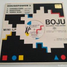 Discos de vinilo: THE CONNECTORS / INSEXTION / TERRA W.A.N. - HOUSEPOWER 1 (EP). Lote 127254928