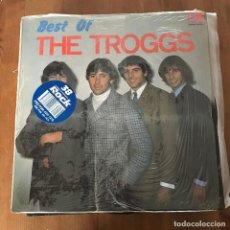 Discos de vinilo: TROGGS - BEST OF - LP FONTANA 1989. Lote 127277155