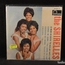 Discos de vinilo: THE SHIRELLES - LA MUSICA DA VUELTAS +3 - EP. Lote 127278771