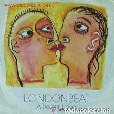 Discos de vinilo: LONDONBEAT, A BETTER LOVE, MAXI SINGLE, SPAIN 1990. Lote 127284907