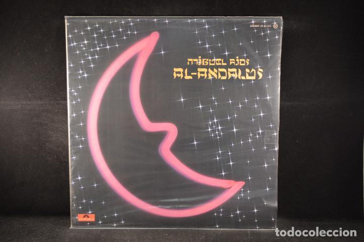 MIGUEL RIOS - AL - ANDALUS - LP (Música - Discos - LP Vinilo - Solistas Españoles de los 70 a la actualidad)