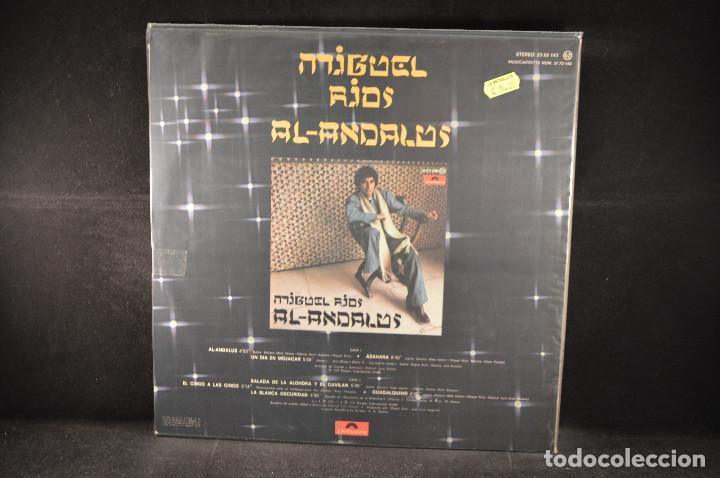 Discos de vinilo: MIGUEL RIOS - AL - ANDALUS - LP - Foto 2 - 127286395