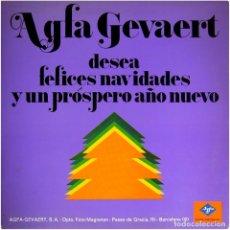 Discos de vinilo: VVAA – RUEDA DE CANCIONES NAVIDEÑAS - LP SPAIN 1972 - AGFA GEVAERT S-14.035. Lote 127333163