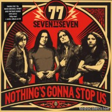 Discos de vinilo: '77 NOTHING'S GONNA STOP US LP + CD . HARD ROCK AC/DC THE HELLACOPTERS UFO. Lote 127372227