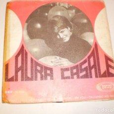 Discos de vinilo: SINGLE LAURA CASALE. LLÁMAME. LOVE ME PLEASE. THE MORE I SEE YOU. CRUZANDO MIS DEDOS 1967 (PROBADO). Lote 127407959