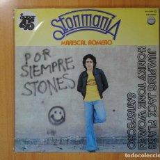Discos de vinilo: MARISCAL ROMERO - STONMANIA - MAXI. Lote 127443252