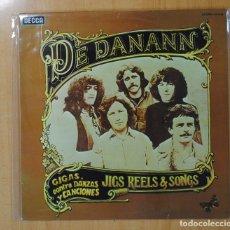 Discos de vinilo: DE DANANN - JIGS REELS & SONGS - LP. Lote 127444996