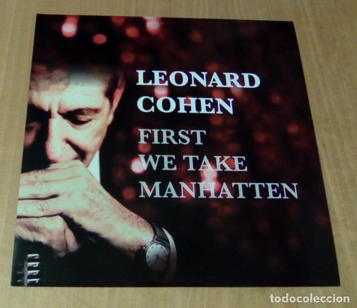 LEONARD COHEN - FIRST WE TAKE MANHATTEN (LP NO OFICIAL) NUEVO (Música - Discos - LP Vinilo - Cantautores Extranjeros)