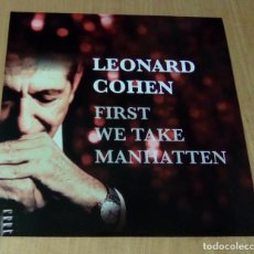 Discos de vinilo: LEONARD COHEN - FIRST WE TAKE MANHATTEN (LP NO OFICIAL) NUEVO. Lote 127445551
