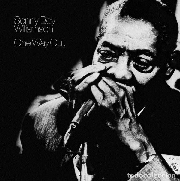 SONNY BOY WILIAMSON * LP HQ VIRGIN VINYL 140G * ONE WAY OUT * LTD PRECINTADO!! (Música - Discos - LP Vinilo - Jazz, Jazz-Rock, Blues y R&B)