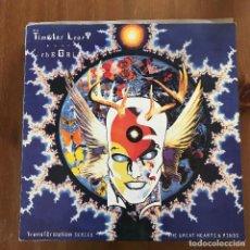 Discos de vinilo: THIMOTY LEARY MEETS THE GRID - ORIGINS OF DANCE - MAXISINGLE EVOLUTION UK 1990. Lote 127447871
