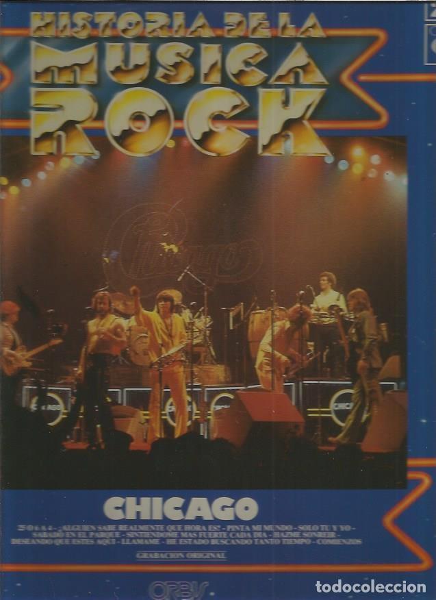 CHICAGO HISTORIA MUSICA ROCK (Música - Discos - LP Vinilo - Pop - Rock - Extranjero de los 70)