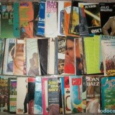 Discos de vinilo: DISCOS (L-05) (LOTE DE 100 DISCOS SINGLES DIFERENTES) TODOS LOS ESTILOS. Lote 127452307