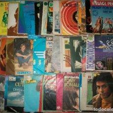 Discos de vinilo: DISCOS (L-11) (LOTE DE 100 DISCOS SINGLES DIFERENTES) TODOS LOS ESTILOS. Lote 127453111