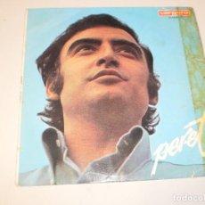 Discos de vinilo: SINGLE PERET. TRACATRÁ. MÍA. PENSANDO EN TI. AMOR A TODO GAS. VERGARA 1968 SPAIN (PROBADO Y BIEN). Lote 127454535