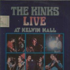 Discos de vinilo: KINKS LIVE KELVIN HALL. Lote 127455967