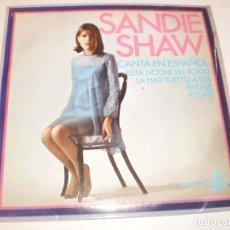 Discos de vinilo: SINGLE SANDIE SHAW. ESTA NOCHE EN TOKIO. LA HAS VUELTO A VER. PÁRALE, ASÍ, ASÍ. HISPAVOX 1967 . Lote 127456879