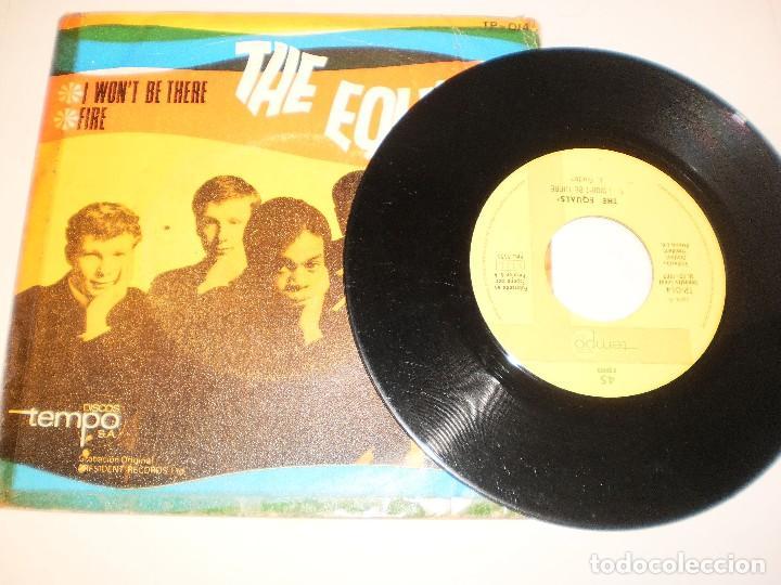 Discos de vinilo: single the equals. i won't be there. fire. tempo 1967 spain (probado y bien) - Foto 3 - 127458447
